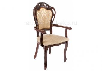 Кресло Bronte вишня / бежевый - Арива Мебель